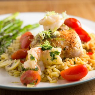 Pan Seared Red Snapper & Shrimp in a Lime Margarita Sauce – Inside my Restaurant Kitchen