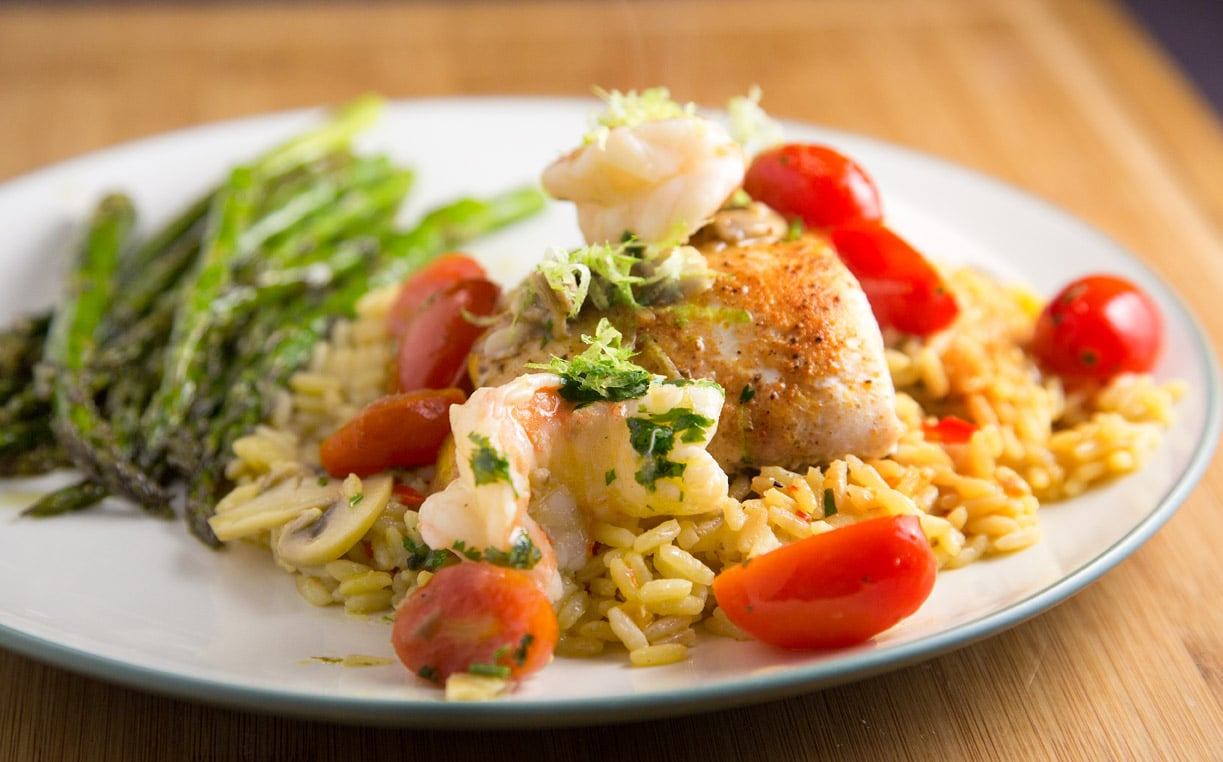 Pan Seared Red Snapper & Shrimp in a Lime Margarita Sauce – Inside ...