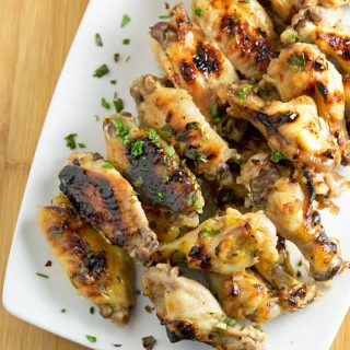 Appetizers, Tequila Lime Chicken Wings