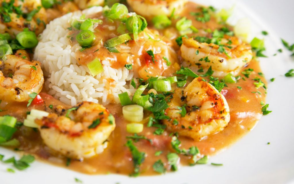 Around the Kitchen Table, shrimp etouffee