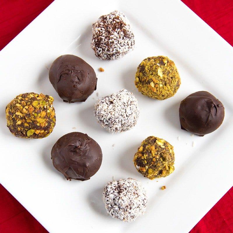 chocolate ganache truffles and treats, Ideas