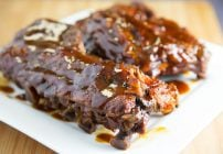 Slow Cooker Ginger Beer Barbecue Ribs 2