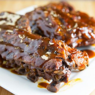 Slow Cooker Ginger Beer Barbecue Baby Back Ribs