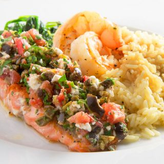 Mediterranean Style Salmon