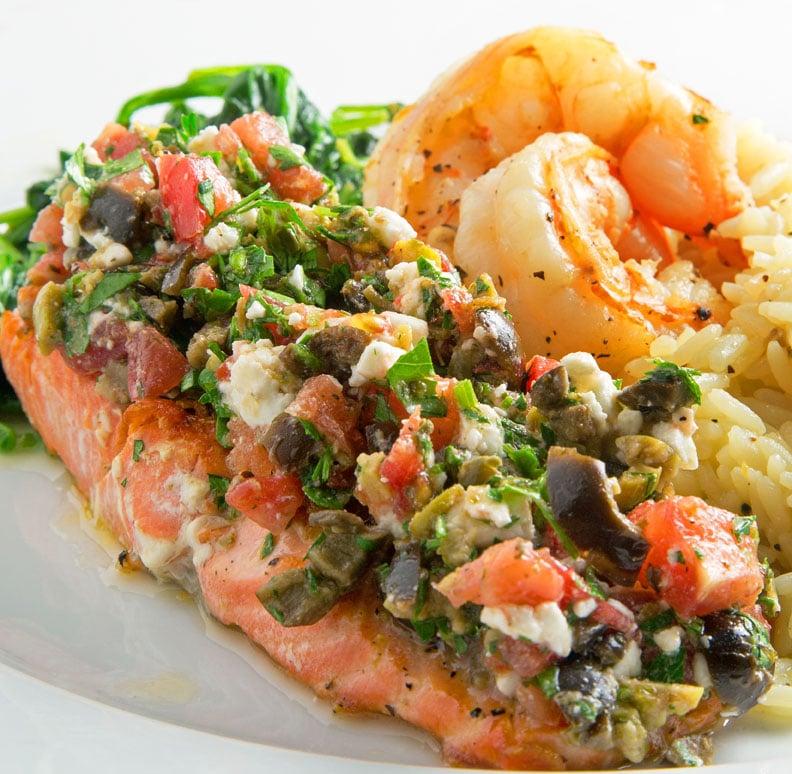 Mediterranean Style Cuisine: Mediterranean Style Salmon