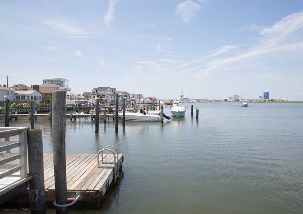 Brigantine Island and Atlantic City