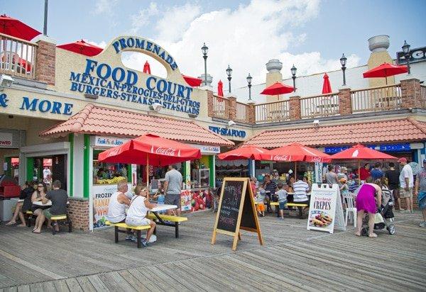 Ocean City , New Jersey Boardwalk