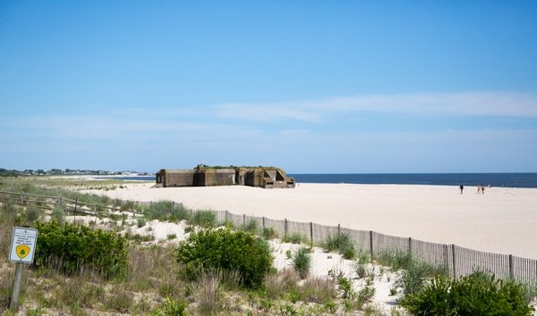 State Park, beach, bunker