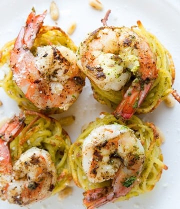 Pasta Nests, Pam cooking spray