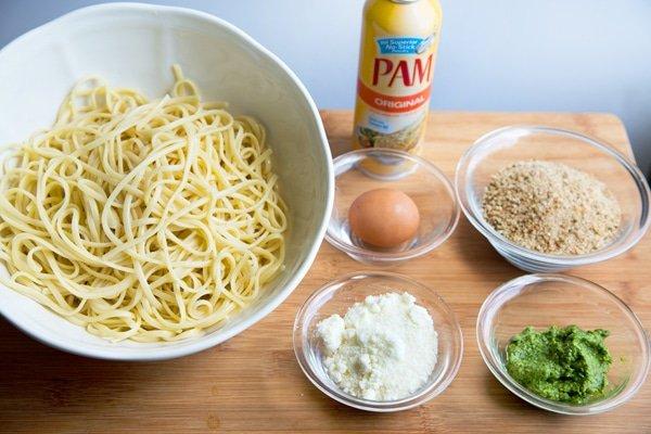 Pasta Nests, Pam