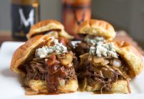 Slow Cooker Wild Boar and Pulled Pork Sliders