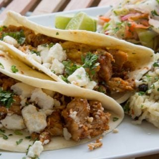 Slow Cooker Korean Inspired Street Tacos