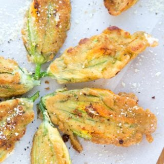 How to Make Stuffed Zucchini Blossoms - an Italian Classic