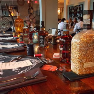 Jack Daniels Whiskey Dinner at Artisan's Table