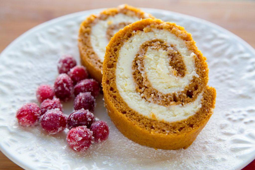 Gluten Free Pumpkin Roll, recipe