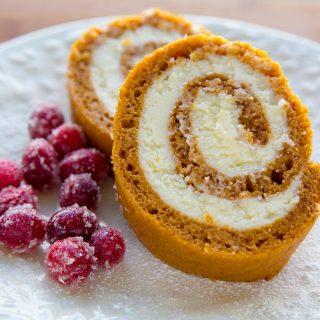 The Best Gluten Free Pumpkin Roll Recipe