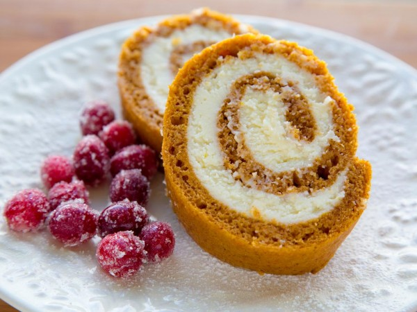 Gluten Free Pumpkin Roll, recipe