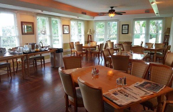 Tarpon Lodge Dining Room, Pine Island