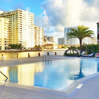 The Beachwalk Resort in Hallandale Beach for your next Southern Florida Getaway!