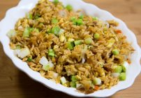 Chinese Barbecued Pork, fried rice