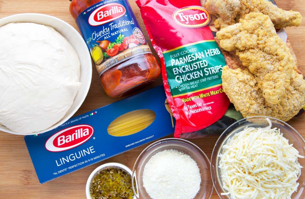 Barilla, Pasta, Sauce, Tyson Chicken