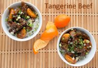 Tangerine Beef – It's what's for dinner!