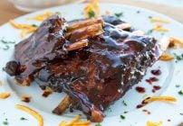 Tangerine Sticky Ribs – Slow Cooker Style