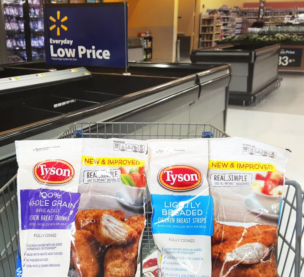 walmart, tyson, easy recipe, Jarlsberg Chicken