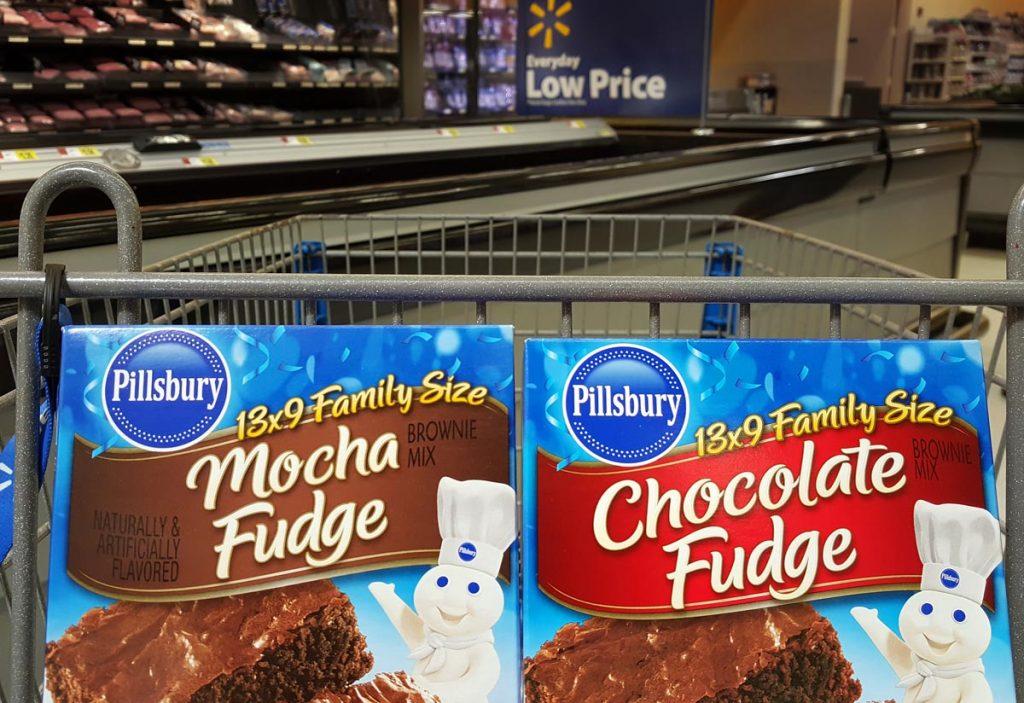Pillsbury, Brownies, Pecan, Walmart, Ad