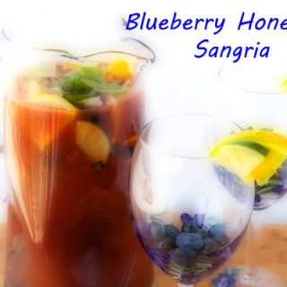 Celebrate the Season with Blueberry Honeybell Sangria