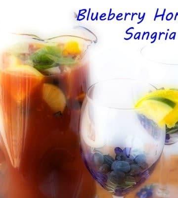 Noble Juice, honeybell, blueberry, sangria, Florida