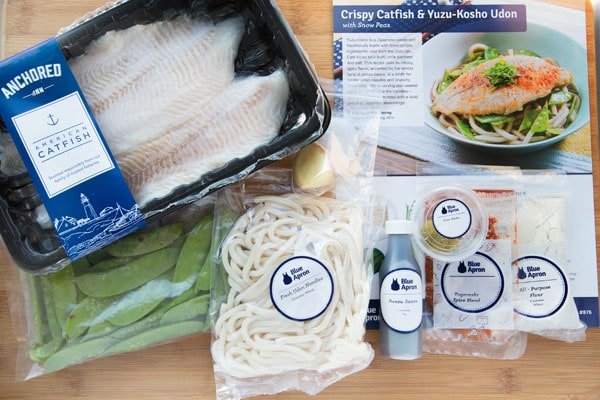 Crispy Catfish Mise en Place by Blue Apron