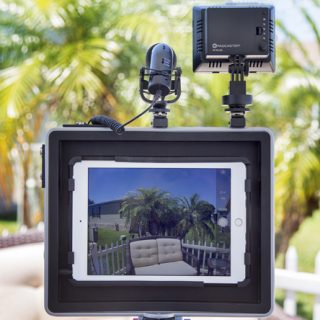 padcaster, Ipad, live streaming, movies
