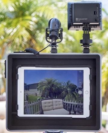 padcaster, Ipad, live streaming, movies