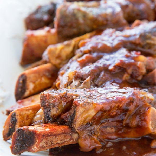 slow cooker barbecue beef ribs