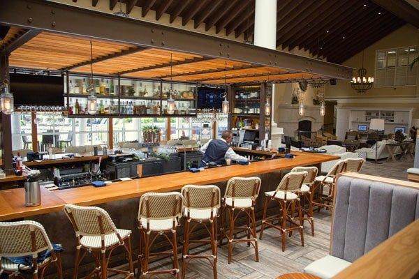 bar inside the King and Prince Resort