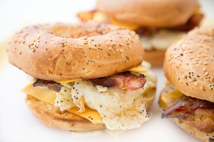 Breakfast sandwich, Anytime Sandwich