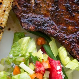 Coffee Dry Rub Pork Chops and Chicken Recipe