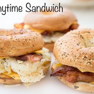 "Breakfast Sandwich aka ""The Anytime Sandwich"""