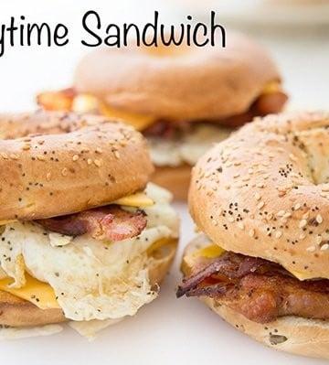 anytime sandwich , Breakfast sandwich
