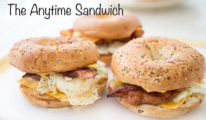 "Breakfast Sandwich aka ""The Anytime Sandwich"""