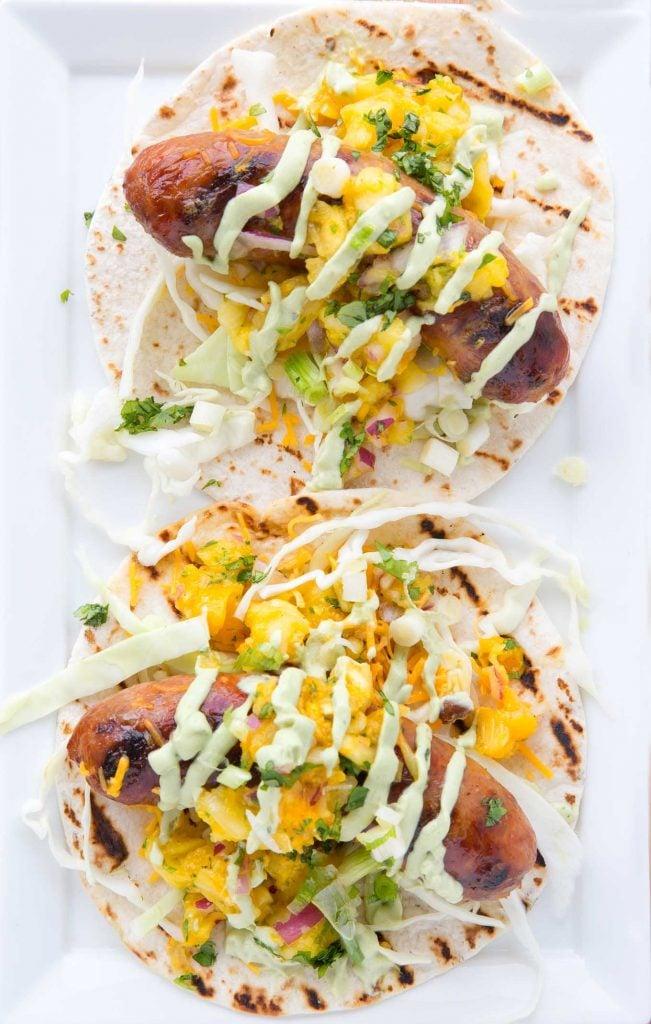 Brat Tacos for BratsGiving