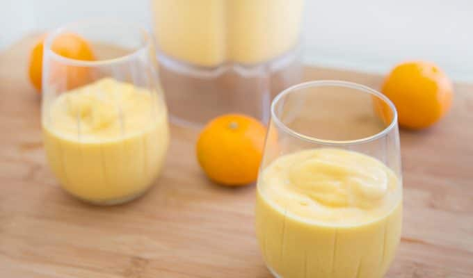 Tangerine Mango Smoothie for an Anytime Energy Boost! #DrinkNoble