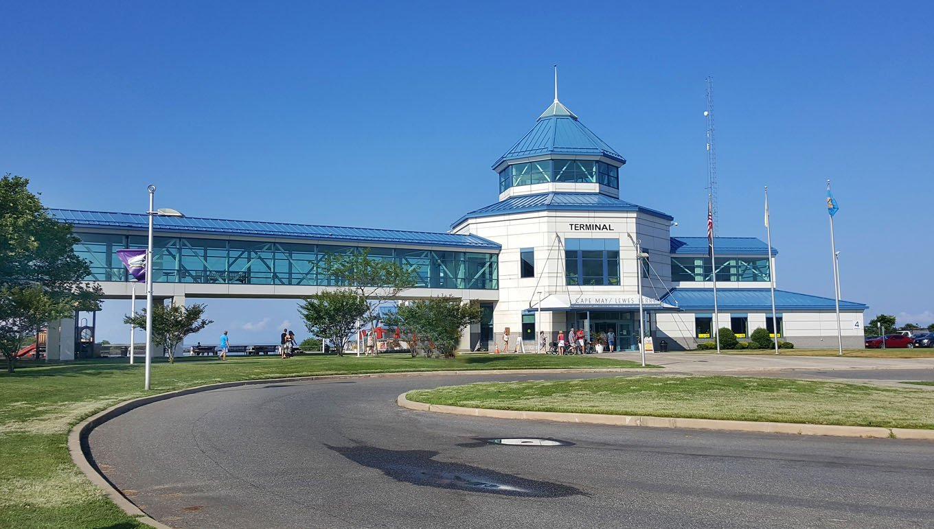 Cape May-Lewes ferry terminal