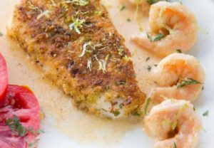 Lime Crusted Chilean Sea Bass