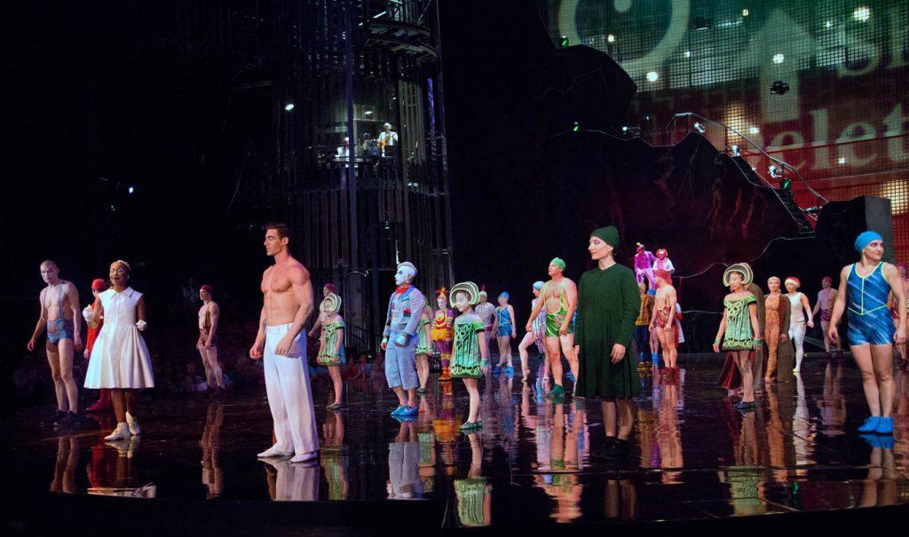 cirque du soliel La Nouba, Disney Springs