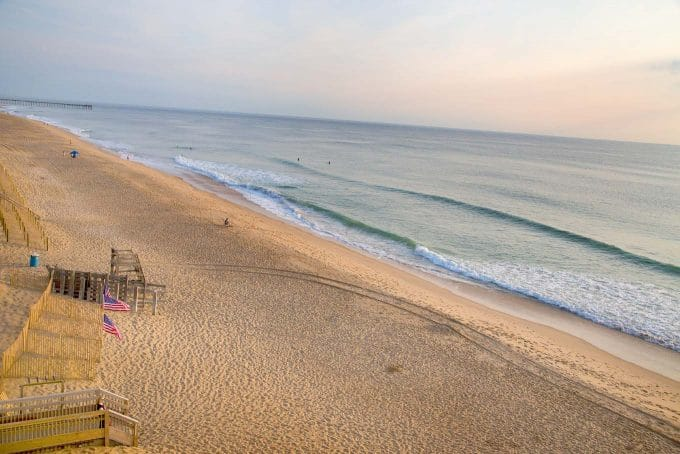 kill devil hills and Kitty hawk beach
