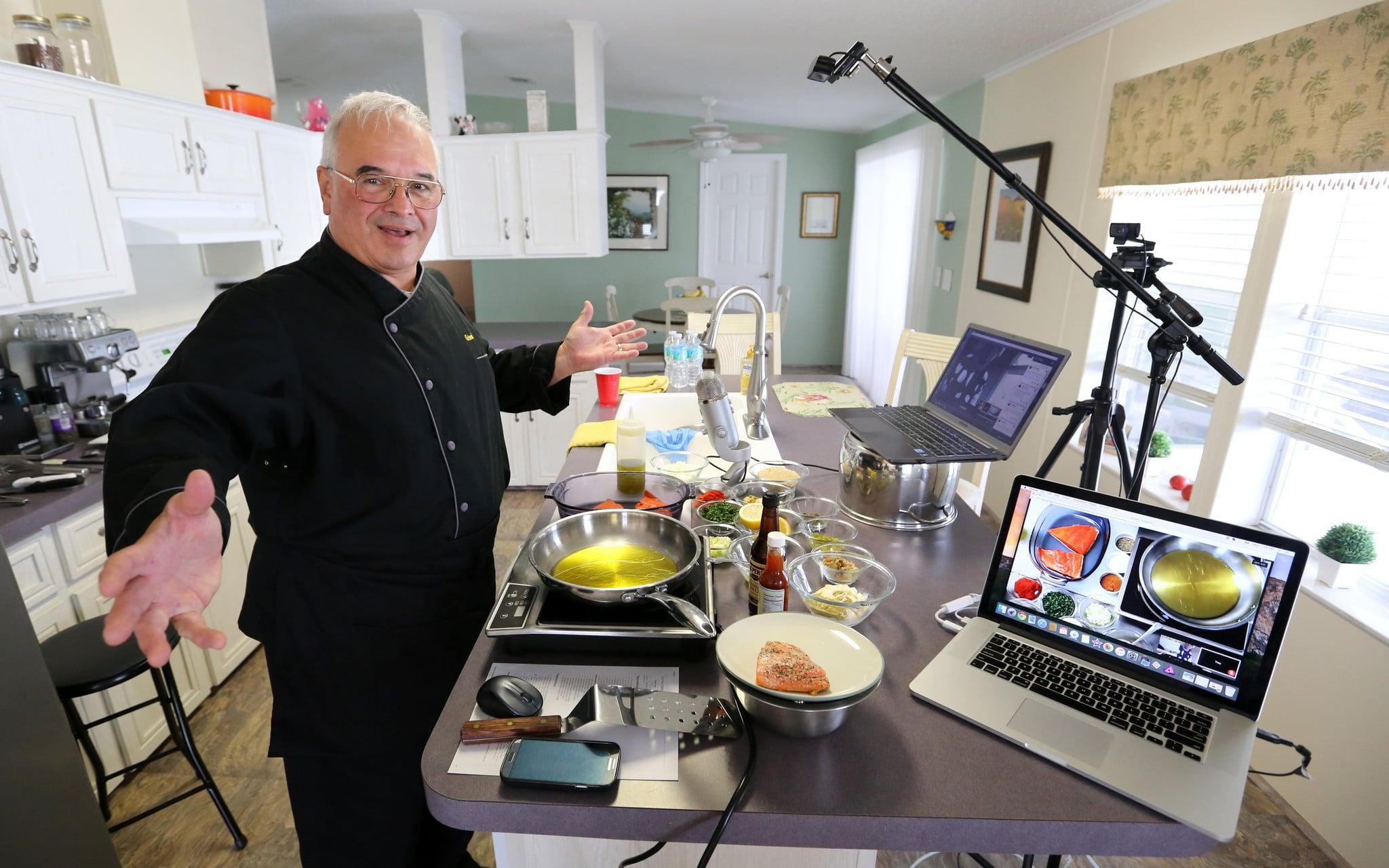 Chef Dennis Littley live streaming