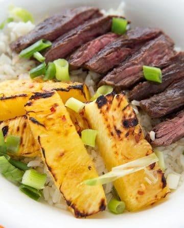 Pineapple Steak Bowl , Terra's Kitchen