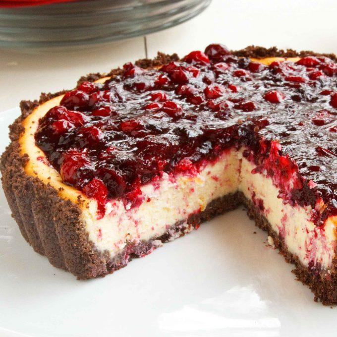 amethyst cheesecake torte